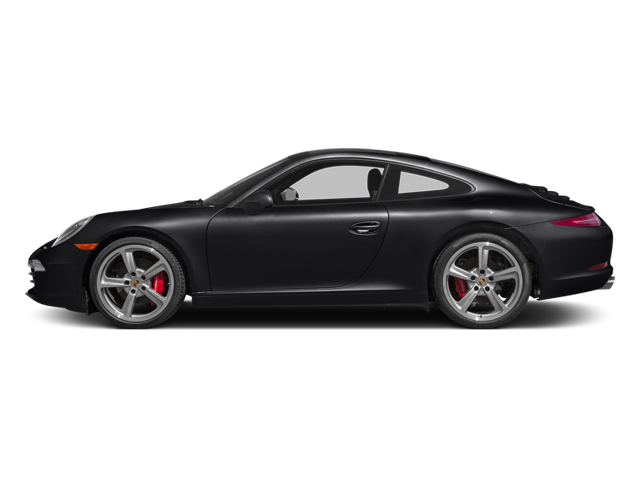 Black 2014 Porsche 911 Pictures 911 Coupe 2D Carrera S Anniversary H6 photos side view