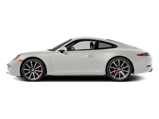 White 2014 Porsche 911 Pictures 911 Coupe 2D 4 AWD H6 photos side view