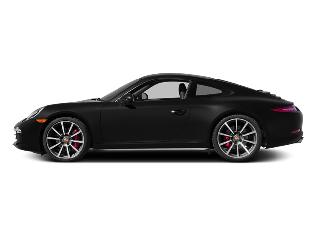 Black 2014 Porsche 911 Pictures 911 Coupe 2D 4 AWD H6 photos side view