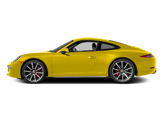 Racing Yellow 2014 Porsche 911 Pictures 911 Coupe 2D 4 AWD H6 photos side view