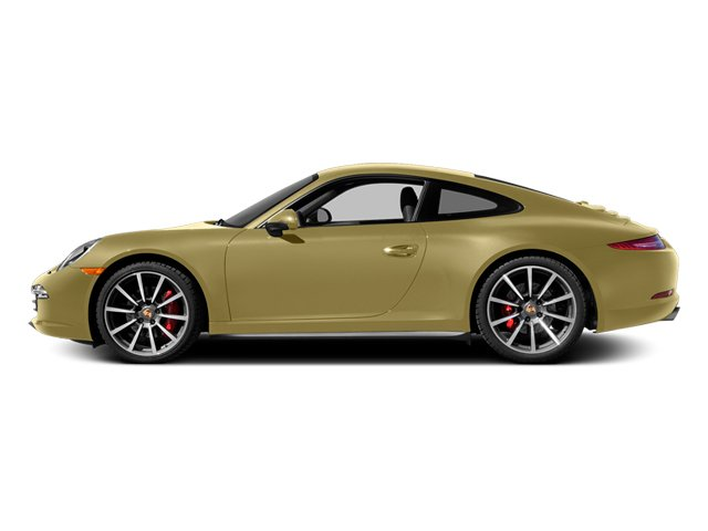 Lime Gold Metallic 2014 Porsche 911 Pictures 911 Coupe 2D 4S AWD H6 photos side view