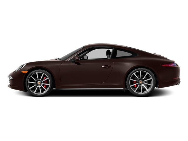 Mahogany Metallic 2014 Porsche 911 Pictures 911 Coupe 2D 4 AWD H6 photos side view