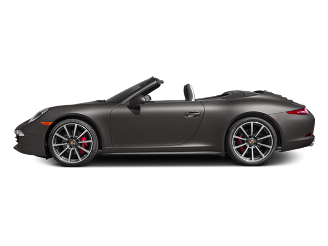 Anthracite Brown Metallic 2014 Porsche 911 Pictures 911 Cabriolet 2D 4 AWD H6 photos side view