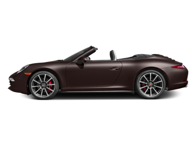 Mahogany Metallic 2014 Porsche 911 Pictures 911 Cabriolet 2D 4 AWD H6 photos side view