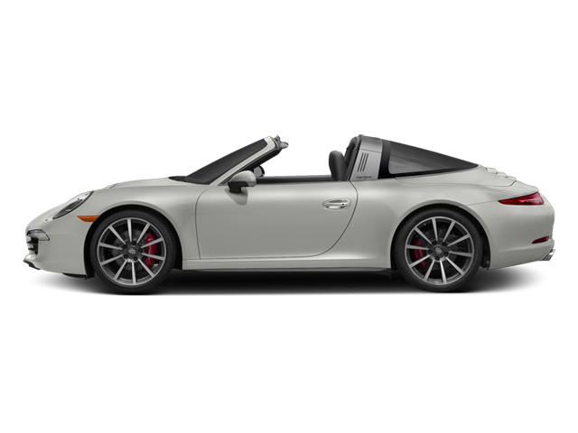 White 2014 Porsche 911 Pictures 911 Coupe 2D 4S Targa AWD photos side view