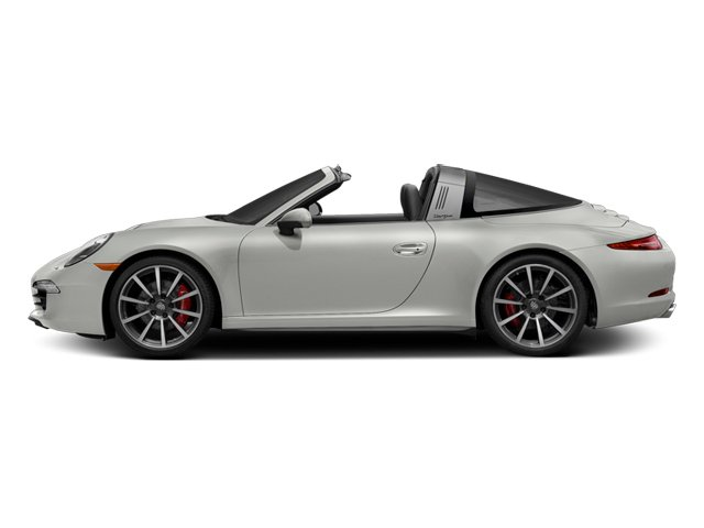 White 2014 Porsche 911 Pictures 911 Coupe 2D 4 Targa AWD photos side view