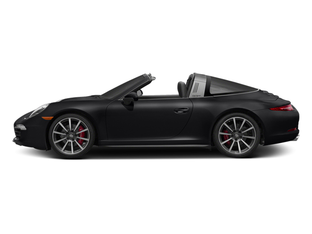 Black 2014 Porsche 911 Pictures 911 Coupe 2D 4S Targa AWD photos side view