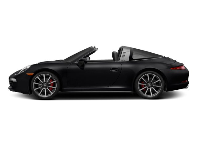 Black 2014 Porsche 911 Pictures 911 Coupe 2D 4 Targa AWD photos side view