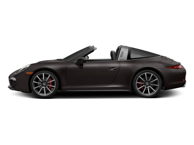 Anthracite Brown Metallic 2014 Porsche 911 Pictures 911 Coupe 2D 4S Targa AWD photos side view
