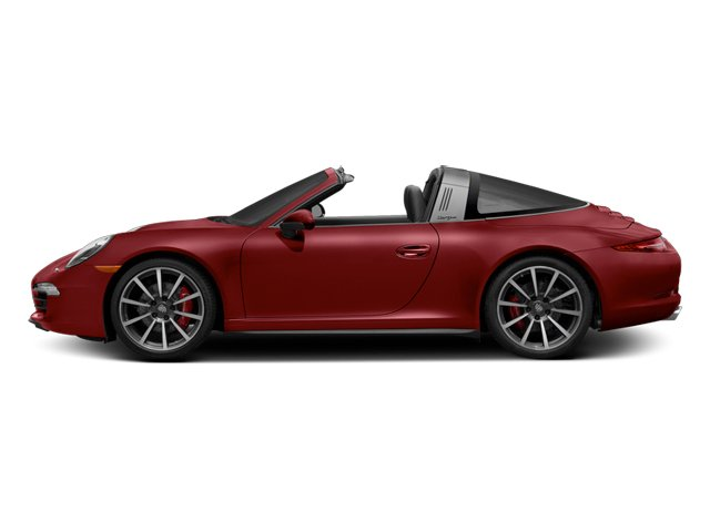 Amaranth Red Metallic 2014 Porsche 911 Pictures 911 Coupe 2D 4S Targa AWD photos side view