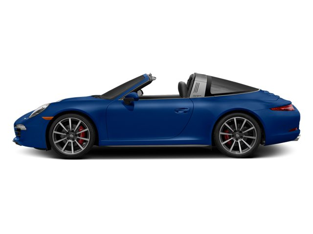 Sapphire Blue Metallic 2014 Porsche 911 Pictures 911 Coupe 2D 4 Targa AWD photos side view