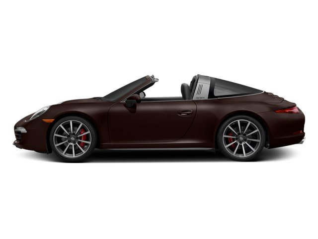 Mahogany Metallic 2014 Porsche 911 Pictures 911 Coupe 2D 4 Targa AWD photos side view