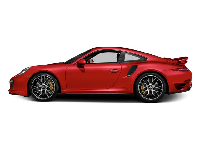 Guards Red 2014 Porsche 911 Pictures 911 Coupe 2D Turbo S AWD H6 photos side view