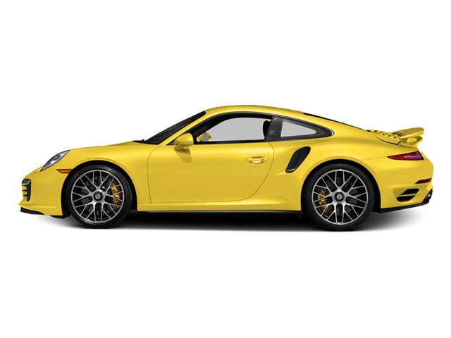 Racing Yellow 2014 Porsche 911 Pictures 911 Coupe 2D Turbo S AWD H6 photos side view