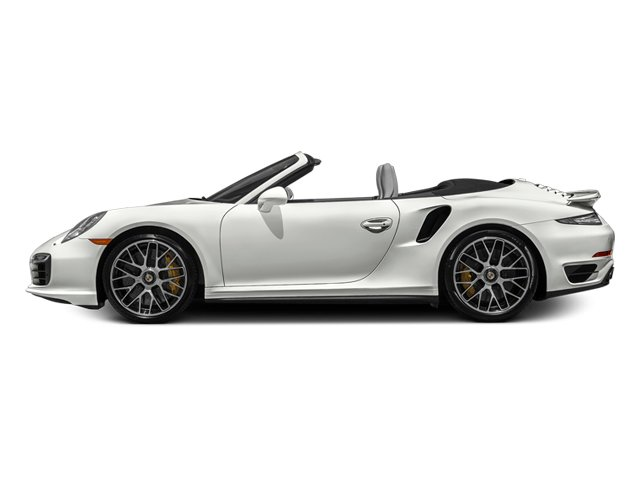 White 2014 Porsche 911 Pictures 911 Cabriolet 2D S AWD H6 Turbo photos side view