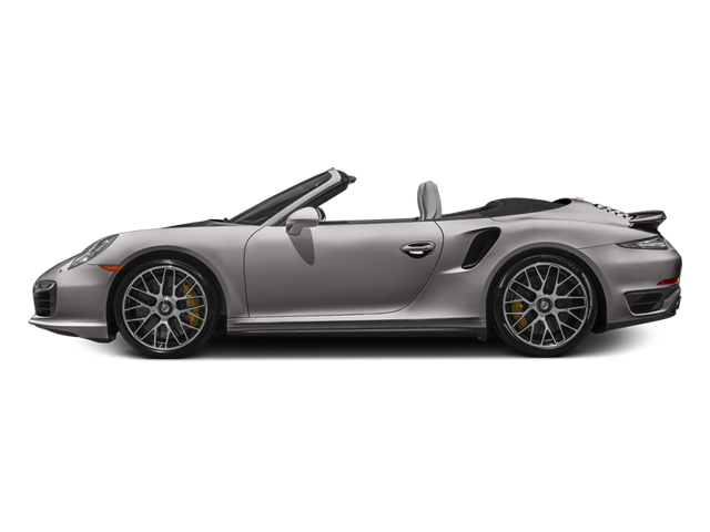 Agate Gray Metallic 2014 Porsche 911 Pictures 911 Cabriolet 2D AWD H6 Turbo photos side view
