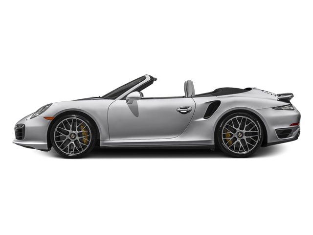 GT Silver Metallic 2014 Porsche 911 Pictures 911 Cabriolet 2D S AWD H6 Turbo photos side view