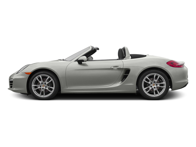 White 2014 Porsche Boxster Pictures Boxster Roadster 2D H6 photos side view