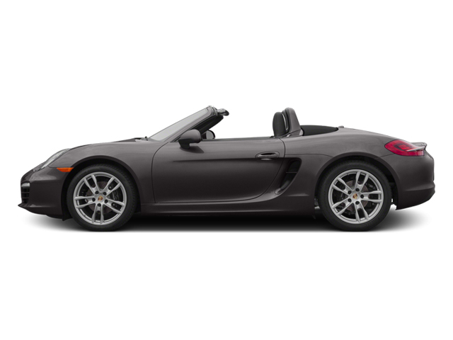 Agate Gray Metallic 2014 Porsche Boxster Pictures Boxster Roadster 2D H6 photos side view
