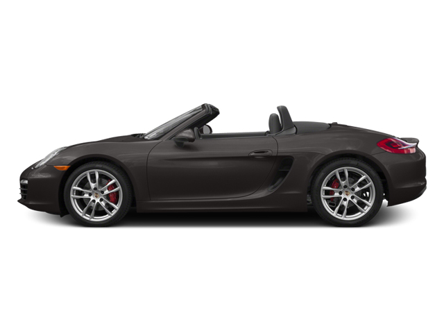 Anthracite Brown Metallic 2014 Porsche Boxster Pictures Boxster Roadster 2D S H6 photos side view