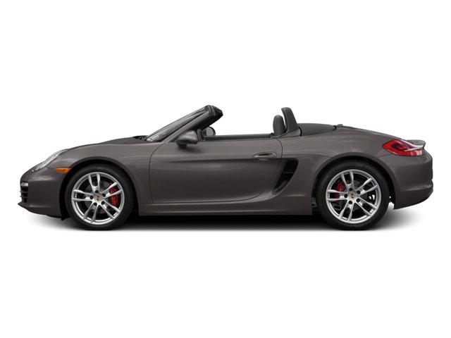 Agate Gray Metallic 2014 Porsche Boxster Pictures Boxster Roadster 2D S H6 photos side view
