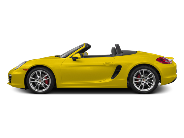 Racing Yellow 2014 Porsche Boxster Pictures Boxster Roadster 2D S H6 photos side view