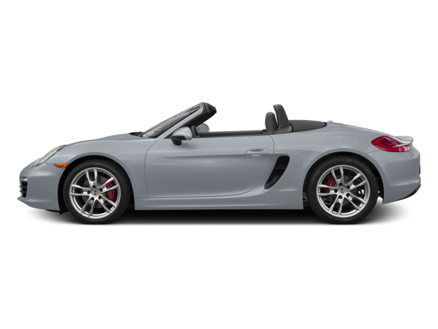 Rhodium Silver Metallic 2014 Porsche Boxster Pictures Boxster Roadster 2D S H6 photos side view