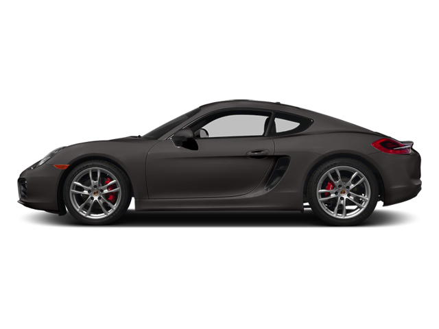 Anthracite Brown Metallic 2014 Porsche Cayman Pictures Cayman Coupe 2D S H6 photos side view