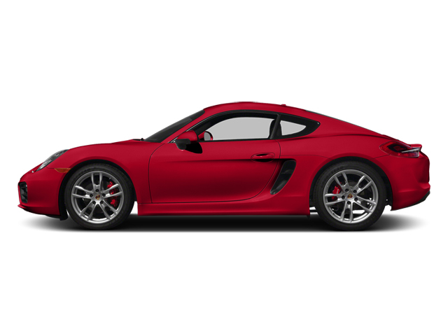 Guards Red 2014 Porsche Cayman Pictures Cayman Coupe 2D S H6 photos side view