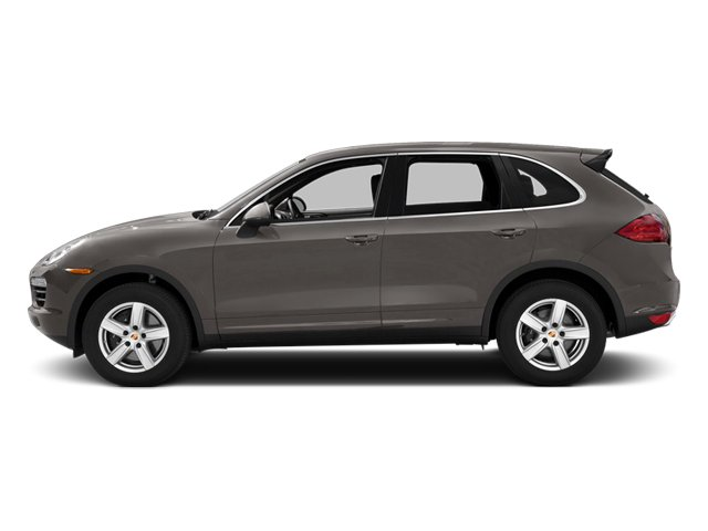 Meteor Gray Metallic 2014 Porsche Cayenne Pictures Cayenne Utility 4D Platinum AWD V6 T-Diesel photos side view