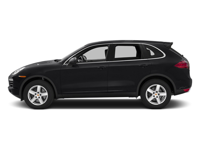 Black 2014 Porsche Cayenne Pictures Cayenne Utility 4D Platinum AWD V6 T-Diesel photos side view