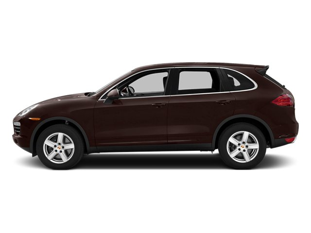 Mahogany Metallic 2014 Porsche Cayenne Pictures Cayenne Utility 4D Platinum AWD V6 T-Diesel photos side view