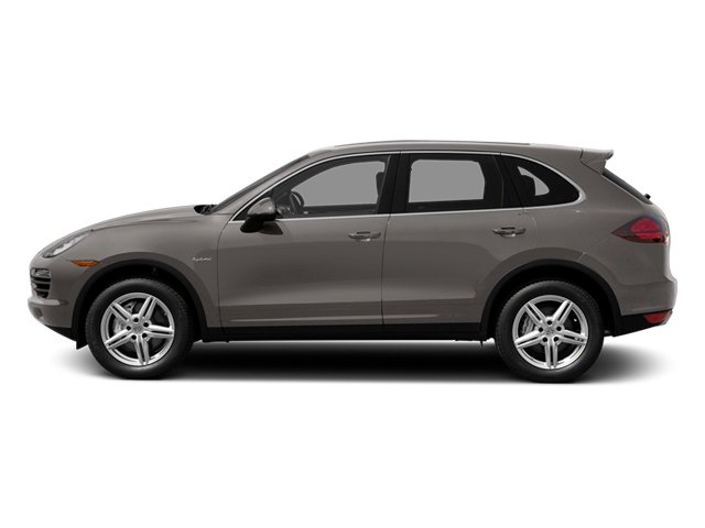Meteor Gray Metallic 2014 Porsche Cayenne Pictures Cayenne Utility 4D S AWD Hybrid V6 photos side view