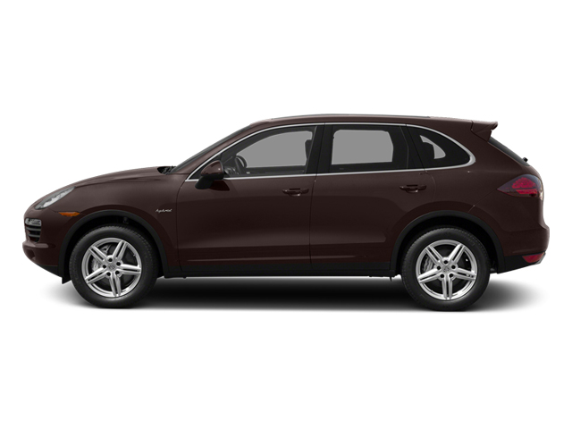 Mahogany Metallic 2014 Porsche Cayenne Pictures Cayenne Utility 4D S AWD Hybrid V6 photos side view