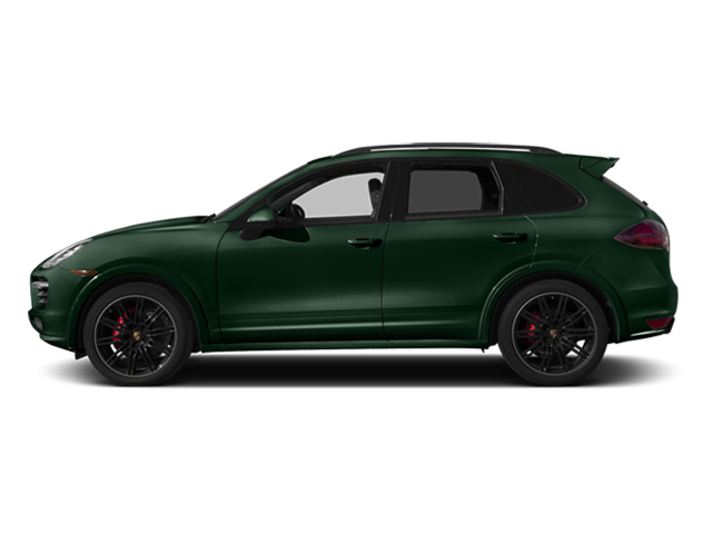 Jet Green Metallic 2014 Porsche Cayenne Pictures Cayenne Utility 4D GTS AWD V8 photos side view