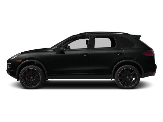 Jet Black Metallic 2014 Porsche Cayenne Pictures Cayenne Utility 4D AWD V8 Turbo photos side view