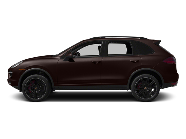 Mahogany Metallic 2014 Porsche Cayenne Pictures Cayenne Utility 4D AWD V8 Turbo photos side view