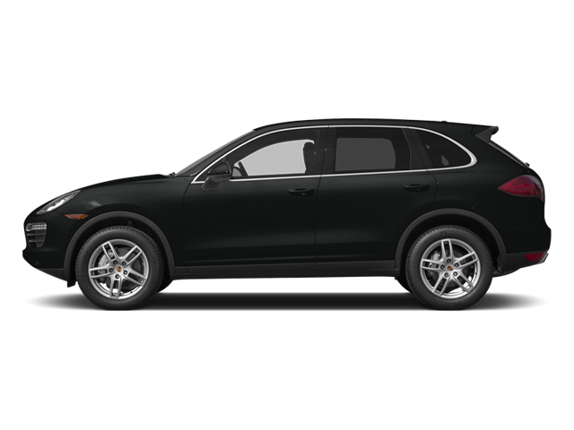 Jet Black Metallic 2014 Porsche Cayenne Pictures Cayenne Utility 4D AWD V6 photos side view