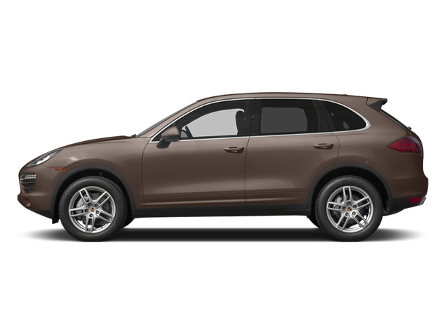 Umber Metallic 2014 Porsche Cayenne Pictures Cayenne Utility 4D AWD V6 photos side view