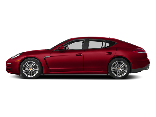 Carmine Red 2014 Porsche Panamera Pictures Panamera Hatchback 4D 4S V6 Turbo photos side view