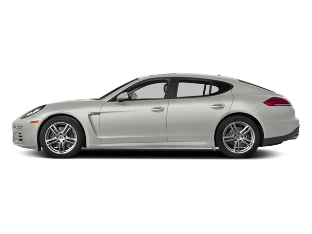 White 2014 Porsche Panamera Pictures Panamera Hatchback 4D S V6 Turbo photos side view