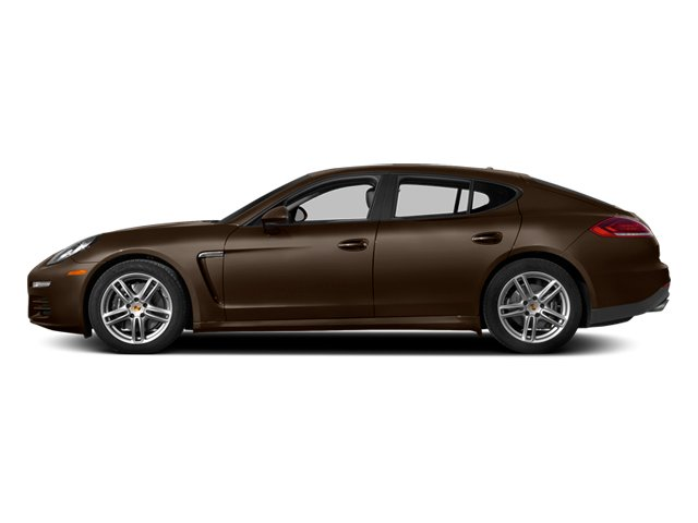 Chestnut Brown Metallic 2014 Porsche Panamera Pictures Panamera Hatchback 4D S AWD V8 Turbo photos side view