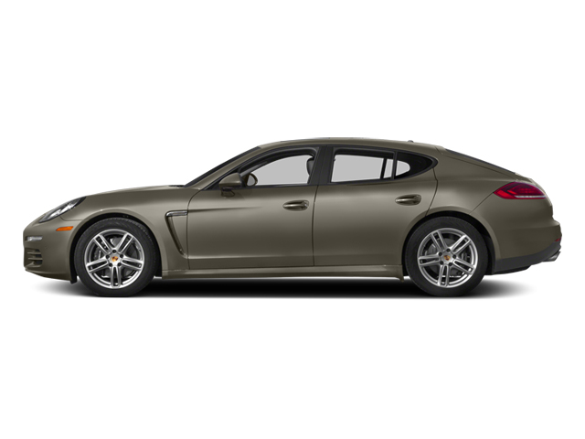 Palladium Metallic 2014 Porsche Panamera Pictures Panamera Hatchback 4D S AWD V8 Turbo photos side view