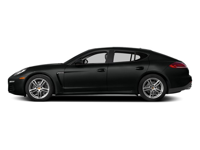 Custom Color Uni 2014 Porsche Panamera Pictures Panamera Hatchback 4D S V6 Turbo photos side view