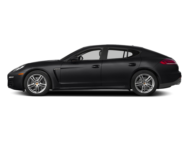 Black 2014 Porsche Panamera Pictures Panamera Hatchback 4D S AWD V8 Turbo photos side view