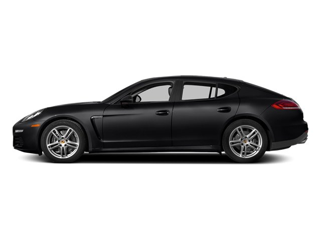 Black 2014 Porsche Panamera Pictures Panamera Hatchback 4D S V6 Turbo photos side view