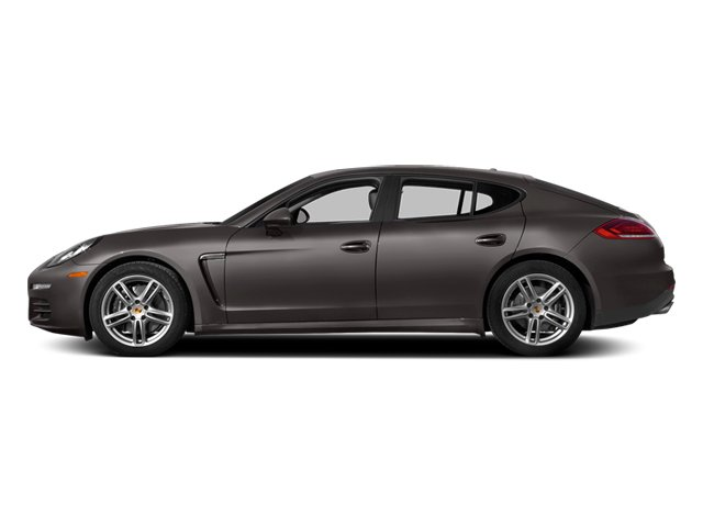 Agate Gray Metallic 2014 Porsche Panamera Pictures Panamera Hatchback 4D S V6 Turbo photos side view