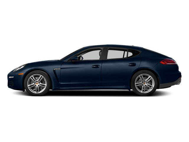 Dark Blue Metallic 2014 Porsche Panamera Pictures Panamera Hatchback 4D S AWD V8 Turbo photos side view