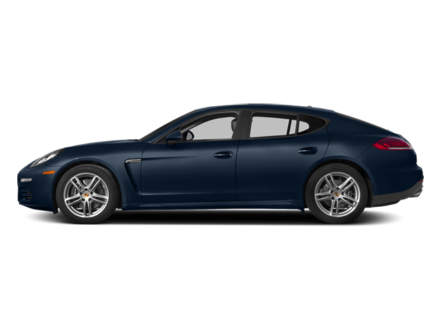 Dark Blue Metallic 2014 Porsche Panamera Pictures Panamera Hatchback 4D S V6 Turbo photos side view
