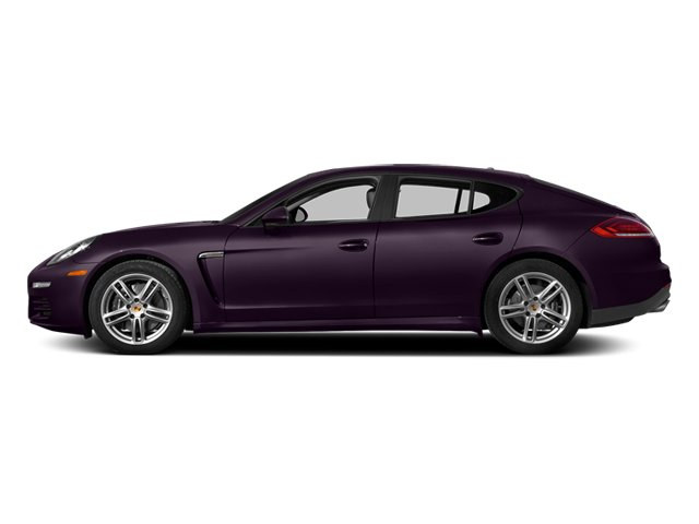 Amethyst Metallic 2014 Porsche Panamera Pictures Panamera Hatchback 4D 4S V6 Turbo photos side view